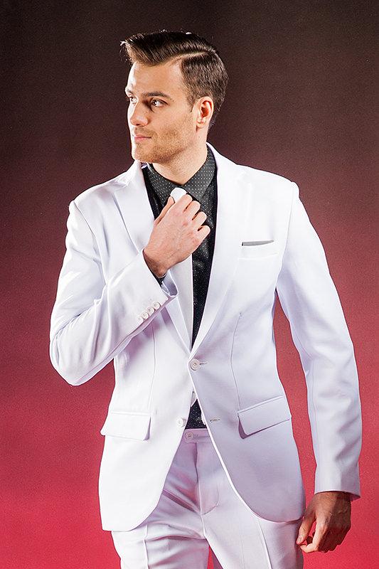 fea8e9f9b5 ... Biały garnitur ślubny Ghost. CLASSIC. promocja. CLASSIC  CLASSIC   CLASSIC  CLASSIC ...